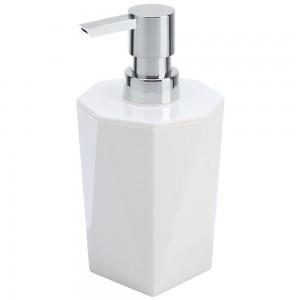Dispenser Sapone in PP Bianco Linea Rubino