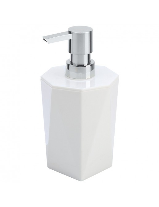 Dispenser Sapone Bianco Linea Rubino