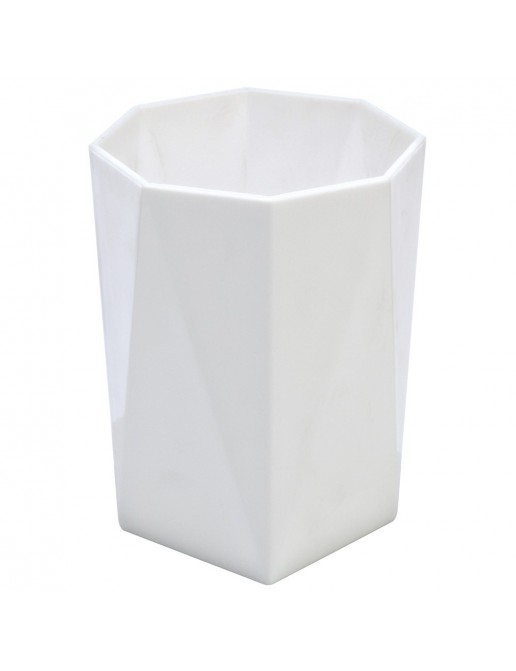Portaspazzolino  Bianco Linea Rubino