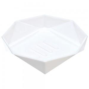 Portasapone in PP Bianco Linea Rubino