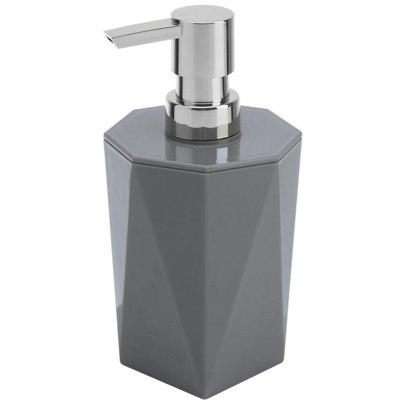 Dispenser Sapone Grigio Linea Rubino