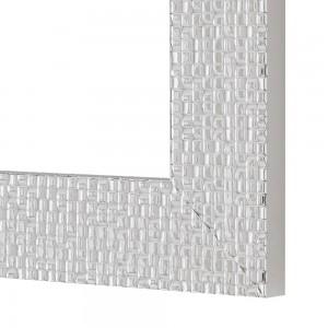 mosaico Specchio Argento 60x80 cm Reversibile