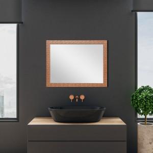 Specchio Rame Reversibile Mosaico 50x60 cm