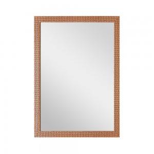 Specchio Rame Reversibile Cornice Mosaico 50x60 cm