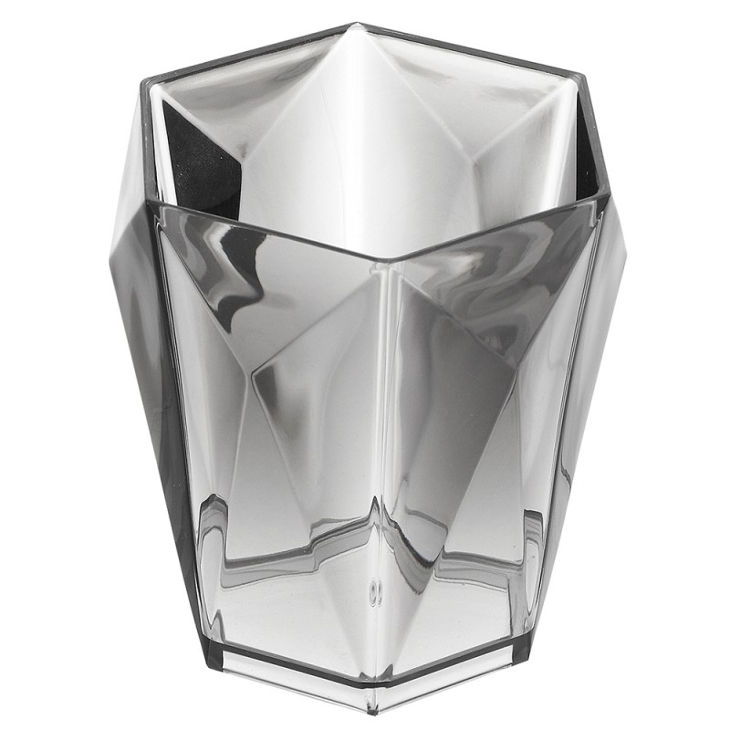 Portaspazzolino Grigio Linea Diamante