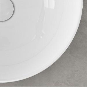 Mensola Portalavabo Grigio Cemento per Lavabi da Appoggio da 60 cm Inbagno - 5
