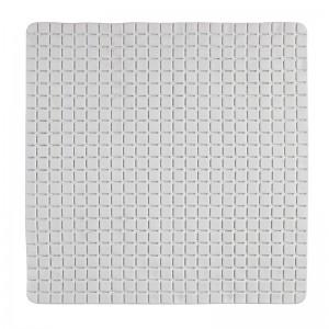 Tappeto Antiscivolo in PVC Mosaico Bianco