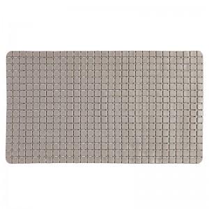 Tappeto Antiscivolo in PVC Mosaico Rettangolare Tortora
