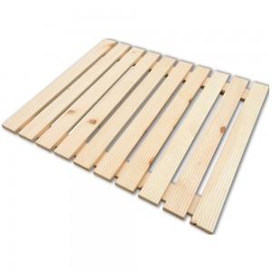 Pedana doccia antiscivolo in legno