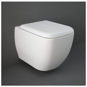 Vaso Sospeso Rak Ceramiche serie Metropolitan in ceramica Bianco