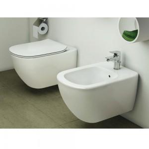 Sanitari Sospesi Completi Ideal Standard Linea Tesi Acquablade colore Bianco