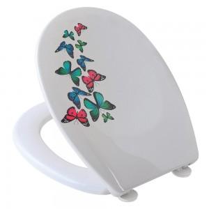 Copriwater Universale con stampa Farfalle
