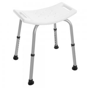 Sgabello Doccia Alluminio Altezza Regolabile disabili
